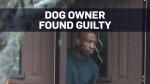 Dog owner found guilty of criminal negligence