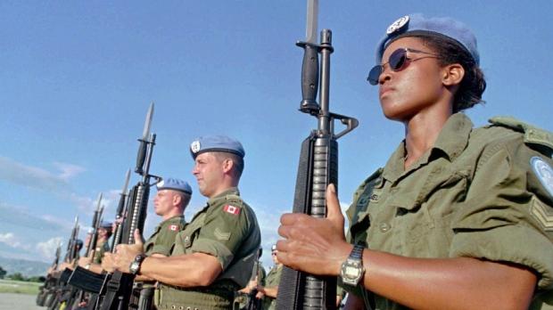 Women peacekeeping