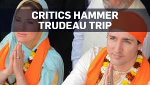 Global criticism for Trudeau over India trip