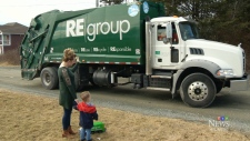 N.S. boy's love for garbage trucks