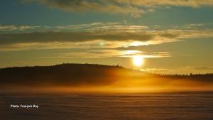 Early morning sunrise taken at Lac-des-Loups, La pêche, Québec. (François Roy/CTV Viewer)
