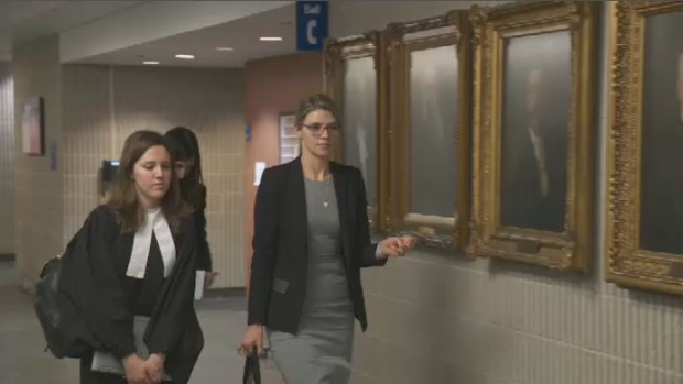 Marie Anne Legault is suing over reaction to the alleged sexual assault.