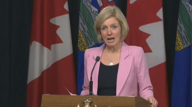 NDP leader Notley addressing party members Saturday
