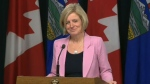 Rachel Notley lifts ban on B.C. wine