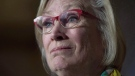 In this file photo, Crown-Indigenous Relations and Northern Affairs Minister Carolyn Bennett speaks during a news conference on Parliament Hill in Ottawa on October 6, 2017. (THE CANADIAN PRESS / Adrian Wyld)