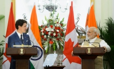 Trudeau meets with Modi