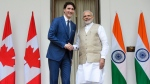Prime Minister Justin Trudeau meets with Prime Minister of India Narendra Modi at Hyderabad House in New Delhi, India on Friday, Feb. 23, 2018. THE CANADIAN PRESS/Sean Kilpatrick