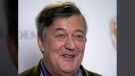In this Friday, Jan. 9, 2015 file photo, British actor and comedian Stephen Fry poses for photographers during a photocall to mark the announcement of the BAFTA (British Academy of Film and Television Arts) award nominations in London. (THE CANADIAN PRESS/AP/Matt Dunham)