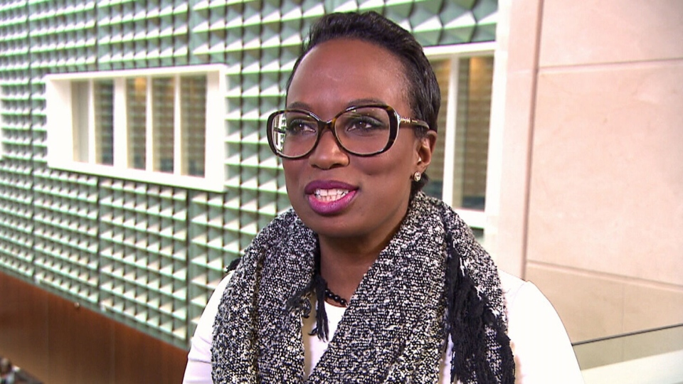 Liberal MP Celina Caesar-Chavannes is seen in an undated file photo.