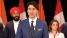 PM Trudeau speaking in India