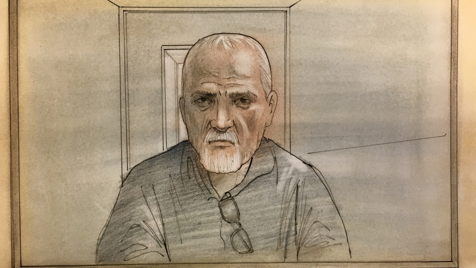 Bruce McArthur is seen in this court sketch, Friday, Feb. 23, 2018.