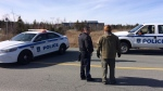 Halifax West High School is on lockdown as police respond to an alleged threat.