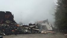 Fire near Schomberg