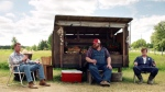 A scene from the Crave-TV comedy series 'Letterkenny'.