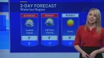 Weekend looking warm, with a risk of rain