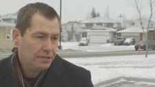 Wesley Vander Leeuw was interviewed by CTV News on January 25, 2017. He was arrested by ALERT investigators that same day.