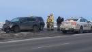 Trans-Canada Highway crash west of Calgary