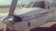 1976 Piper Lance aircraft (Kaupp family)