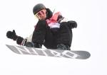 Sebastien Toutant of Canada competes in the men's snowboard big air final at the 2018 Winter Olympic Games in Pyeongchang, South Korea, Saturday, Feb. 24, 2018. THE CANADIAN PRESS/Jonathan Hayward