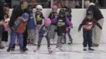 Hundreds of kids attend Cambridge Skating races