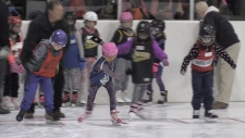 Hundreds of kids attend Cambridge Skating races