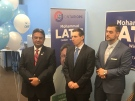 Patrick Brown helped open the campaign office of provincial Tory candidate Mohammad Latif in Windsor on Saturday, Feb. 24, 2018.