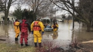 State of Emergency remains in Chatham-Kent as emergency workers save residents from flood.
