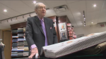 Goldberg attributes his success to word of mouth. At 92, he comes in six days a week to personally greet his customers, and has no plans to retire. (CTV Montreal)