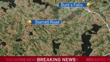 Four people found dead near Burk's Falls