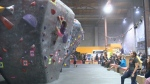 "Kitchener ""Tour de bloc"" rock climbing competition"