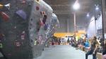 """Kitchener """"Tour de bloc"""" rock climbing competition"""
