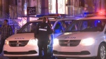 A 22-year-old man was found with a stab wound to the back near the corner of Guy and De Maisonneuve early on Sun., Feb. 25, 2018.