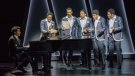 Performers from 'Ain't Too Proud -- The Life and Times of the Temptations,' are shown in a handout photo. Jukebox musicals inspired by the songbooks of Bob Dylan and the Temptations are heading to Mirvish theatres. (THE CANADIAN PRESS/HO-Mirvish Production-Carole Litwin)