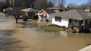 A state of emergency was called as residents deal with flooding in Chatham-Kent, Ont. (Chris Campbell / CTV Windsor)