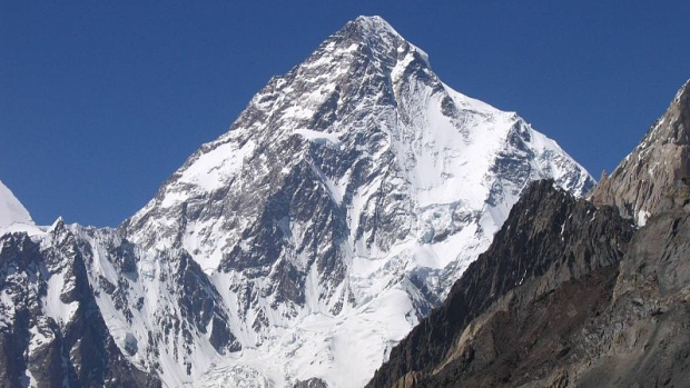 Canadian climber falls to death on Pakistan's K2 mountain