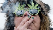 Legal marijuana rally on Parliament Hill