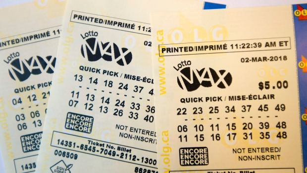 No winning ticket for Friday night's $30 million Lotto Max