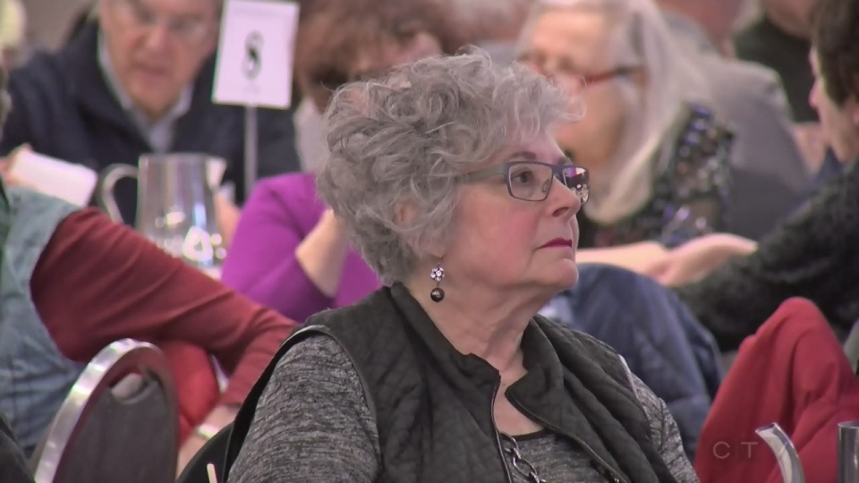 About 250 Montrealers gathered at the Cummings Centre on Monday Feb. 26, 2018 for the first English-language session of a city consultation on seniors