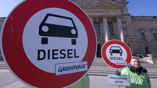 German Court Rules Cities Have the Power to Ban Diesel Engines