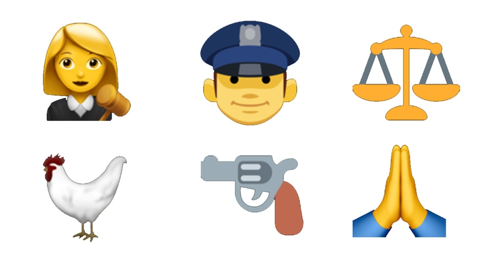 Emojis can present a challenge when it comes to their explicit or implied meanings in court. (Emojipedia)