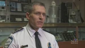 Martin Prud'homme is the interim police chief of the city of Montreal