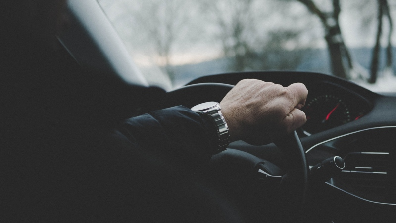 A driver behind the wheel of a car in this generic file photo. (Photo by Johannes Rapprich from Pexels)