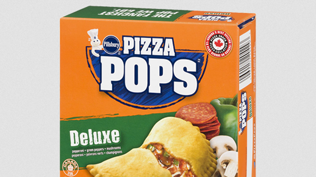 A box of Pizza Pops is seen in this undated image.