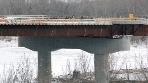 Saskatoon's new North Commuter Parkway Bridge