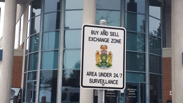 Abbotsford police create 'exchange zone' for safer Craigslist