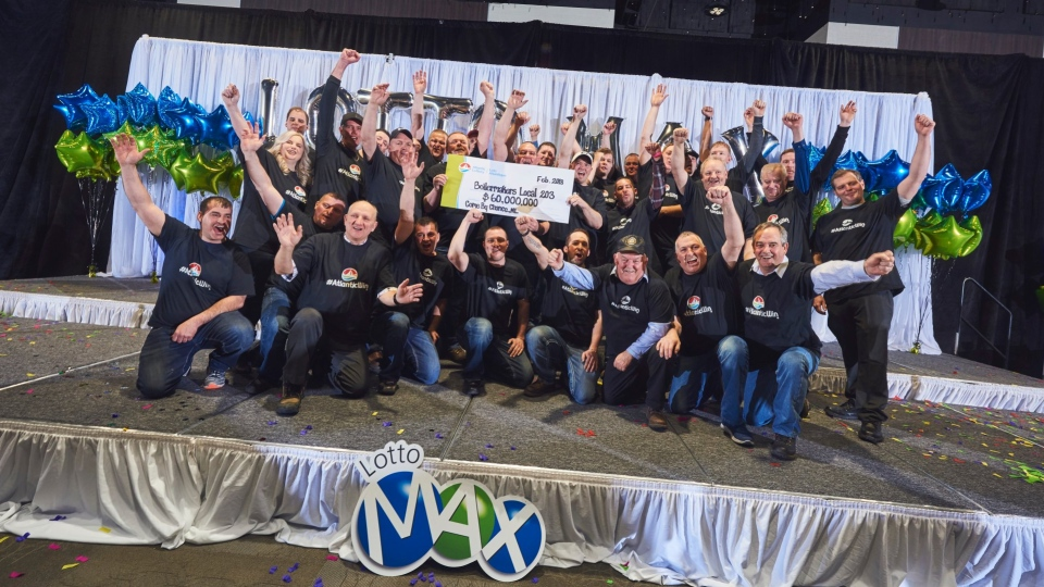 Newfoundland and Labrador has 31 new millionaires thanks to a winning ticket on the Feb. 23 Lotto Max draw. (Credit: Atlantic Lottery Corporation / Twitter)