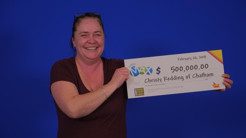 Chatham lotto winner