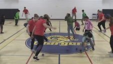 Churchill P.S. students learn physical literacy