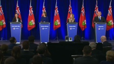 The Ontario PC leadership candidates