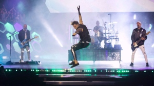Live Nation Entertainment-owned companies have been providing refunds to some music fans who now regret buying tickets to see the embattled band Hedley live in concert. Hedley performs during the Much Music Video Awards in Toronto on Sunday, June 19, 2016. THE CANADIAN PRESS/Chris Young